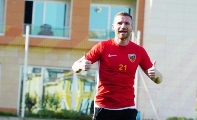 """Kayserispor forveti Muris Mesanovic: """"Gol atmayı çok özledim"""""""