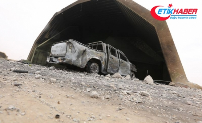 Libya ordusu başkentin güneyinde Hafter milislerine ait 3 zırhlı aracı imha etti