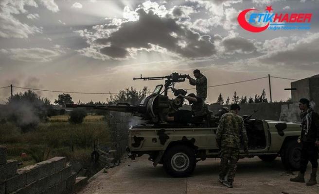Libya Ordusu Hafter milislerinin işgalindeki Vatiyye Askeri Üssü'nde kontrolü sağladı