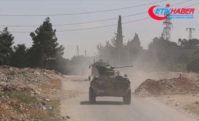 MSB: İdlib'de 10'uncu Türk-Rus Birleşik Kara Devriyesi icra edildi