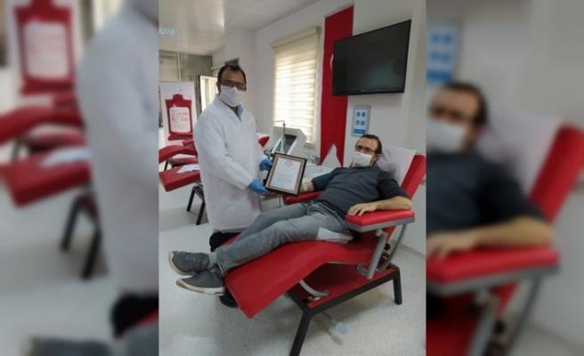 Ordu'da 11 kişi immün plazma bağışı yapmayı kabul etti