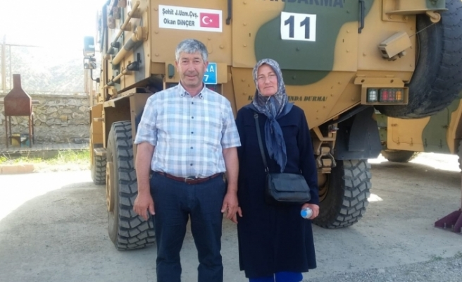 Şehit ailesinden Bakan Soylu ve Vali Şahin'e teşekkür