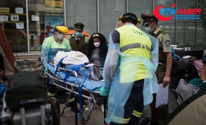 Şili'de Kovid-19 nedeniyle hastanelerin yoğun bakım üniteleri dolmak üzere