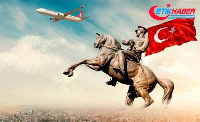 THY'nin 19 Mayıs özel uçuşu için 2,5 milyonu aşkın kişi hatıra bileti oluşturdu