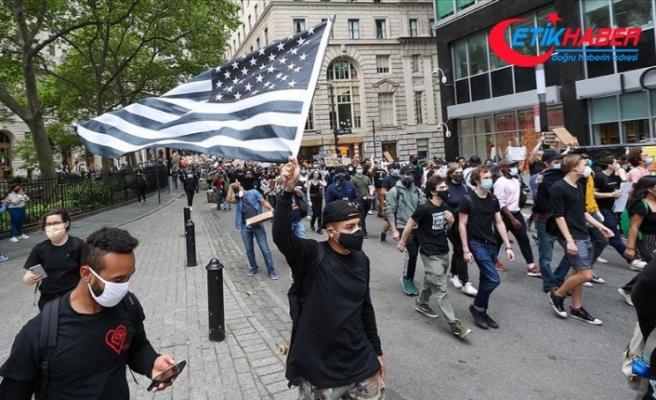 """ABD'de ülke geneline yayılan ırkçılık karşıtı """"George Floyd protestoları"""" durulmuyor"""