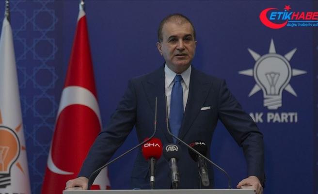 AK Parti Sözcüsü Çelik: İzmir Büyükşehir Belediye Başkanı İzmir'imizi sürekli zararlı gündemlerin içine çekiyor