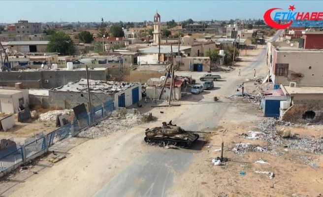 Almanya Fransa ve İtalya'dan Libya'daki taraflara 'çatışmaları durdurma' çağrısı