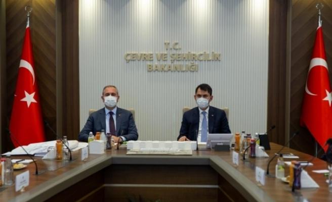 Bakanlar Gül ve Kurum yeni Ankara Adliyesi ile ilgili son durumu değerlendirdi
