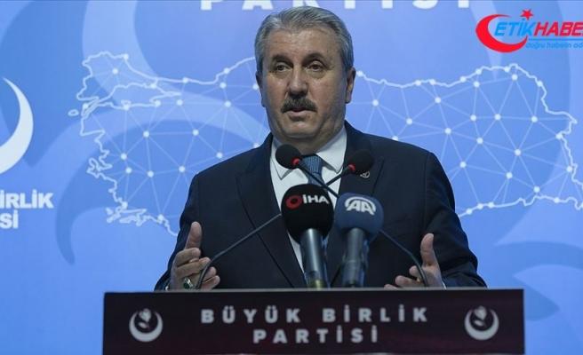 BBP Genel Başkanı Destici: Pençe operasyonları 'temizle-yerleş' operasyonudur