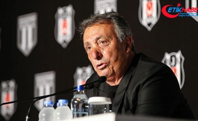 Beşiktaş Kulübü Başkanı Çebi: 3 milyar borcu veririm diyen varsa hemen gelsin