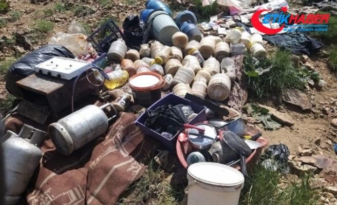 Bitlis'te PKK'ya ait sığınak imha edildi