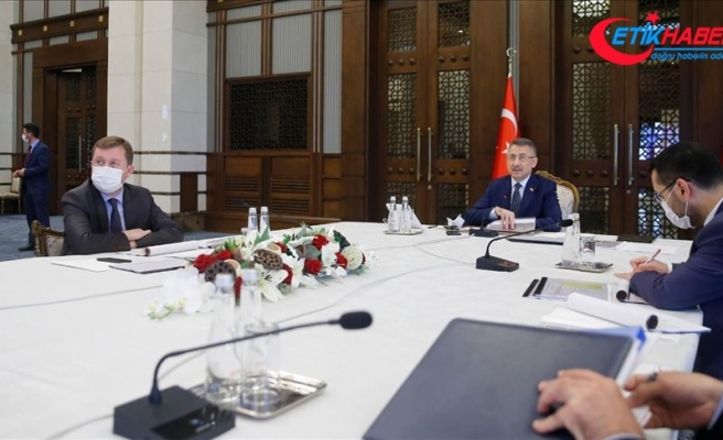 Cumhurbaşkanı Yardımcısı Oktay başkanlığında değerlendirme toplantısı yapıldı