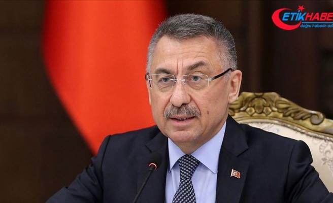 Cumhurbaşkanı Yardımcısı Oktay: Rum yönetimi Türk ve İslam karşıtlığını cesaretlendirmeye son vermeli