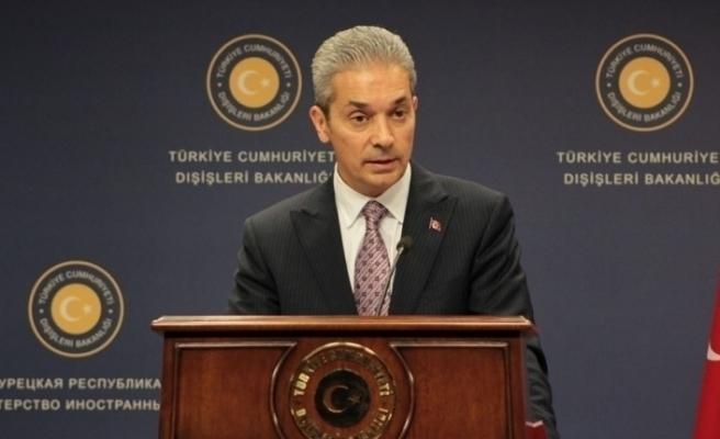 Dışişleri Bakanlığı Sözcüsü Hami Aksoy net konuştu