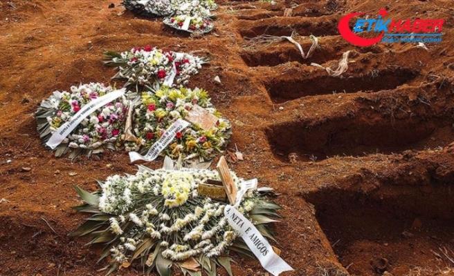 Dünya genelinde Kovid-19 salgını nedeniyle ölenlerin sayısı 480 bini aştı