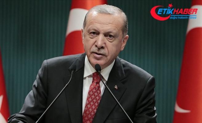 Erdoğan'dan terörle mücadele mesajı: Bu vatanın şehadete eren tek bir evladının kanı yerde kalmayacak