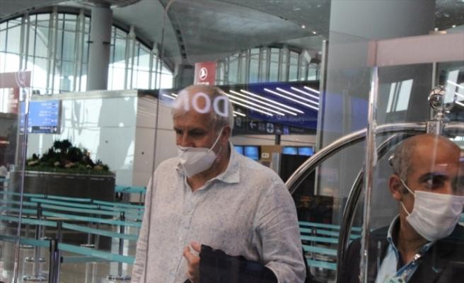 Fenerbahçe Beko Başantrenörü Obradovic, İstanbul'dan ayrıldı