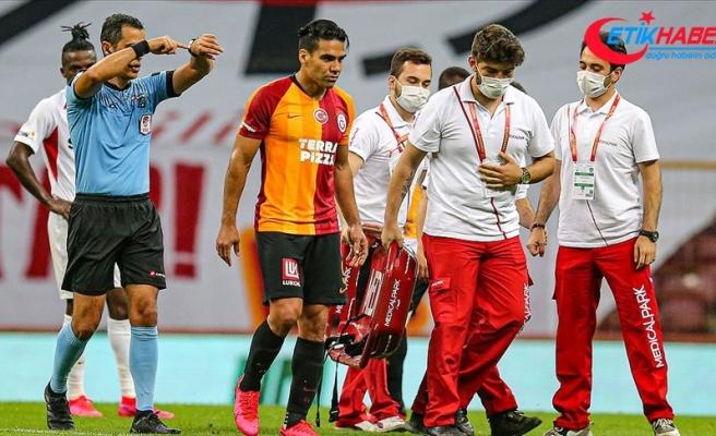 Galatasaraylı futbolcu Falcao'nun adalesinde birinci derece zorlama tespit edildi