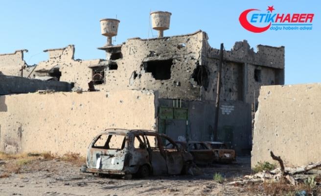Hafter milisleri Libya'nın başkenti Trablus'tan çekilirken geride büyük yıkım bıraktı
