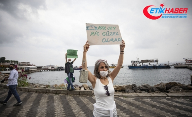 "İBB Başkanı İmamoğlu'na Adalar'da ""elektrikli araç"" tepkisi"