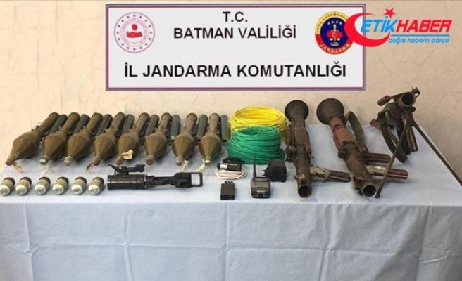 İçişleri Bakanlığı: Batman'da terör örgütünün cephaneliği ele geçirildi