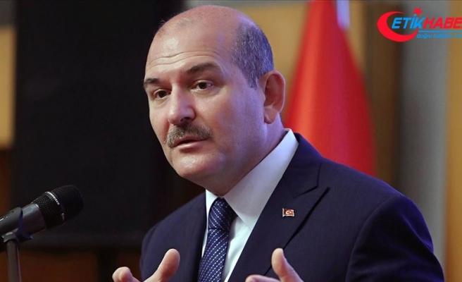 İçişleri Bakanı Süleyman Soylu'dan kaybolan tekneye ilişkin açıklama