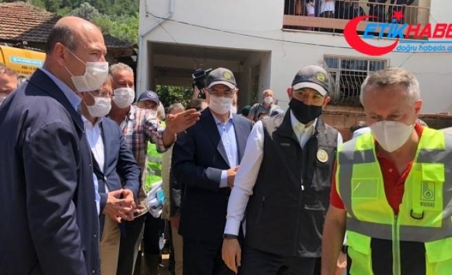"""İçişleri Bakanı Süleyman Soylu: """"Yaraların sarılması için gerekli adımlar atılıyor"""""""