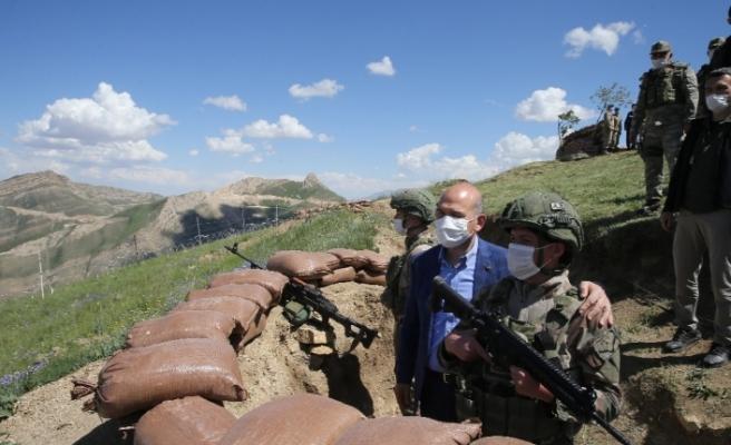 İçişleri Bakanı Süleyman Soylu'dan İran sınırında önemli açıklama
