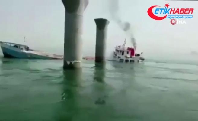 İran'a ait yük gemisi Irak karasularında battı: 2 ölü