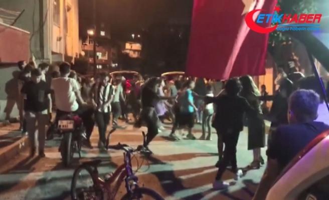 """İstanbul'da asker eğlencesinde """"pes"""" dedirten görüntüler"""