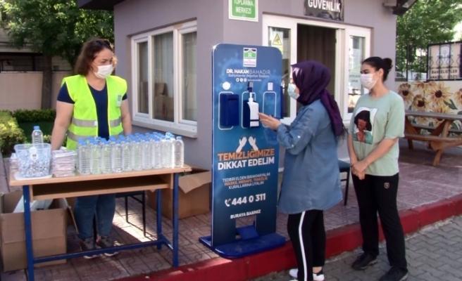 Korona virüs önlemleri altında YKS sınavı