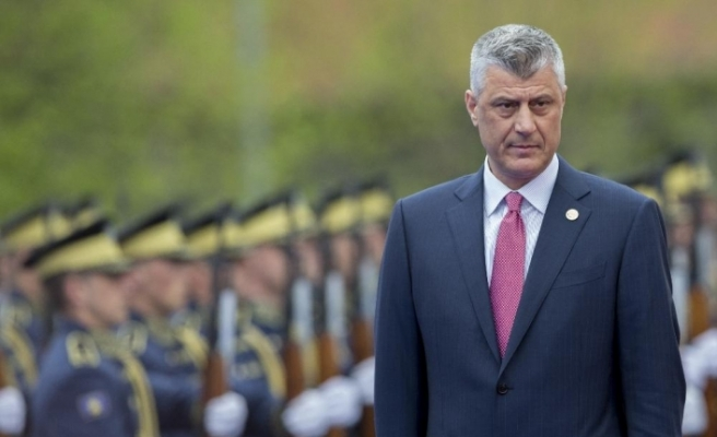 """Kosova Cumhurbaşkanı Thaçi: """"Savaş suçu işlediğim kanıtlanırsa istifa edeceğim"""""""