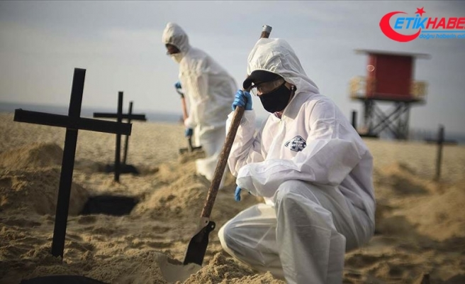 Kovid-19'dan son 24 saatte Brezilya'da 654, Meksika'da 759, Hindistan'da 312 kişi öldü