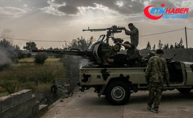 Libya Ordusu stratejik Yermuk Askeri Kampı çevresinde kontrolü sağladı