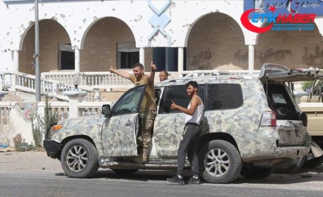 Libya ordusu, Terhune vilayet merkezini kontrol altına aldığını duyurdu