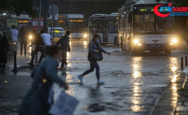 Meteorolojiden Ankara için sağanak ve dolu uyarısı