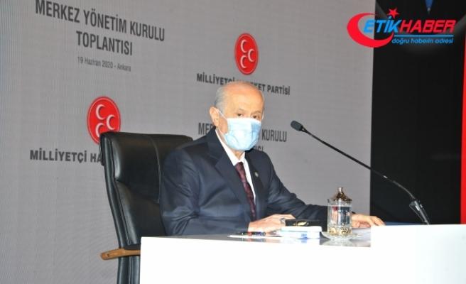 MHP Lideri Bahçeli: Bizim için istikbal, ikbale feda edilemez mahrem bir hazinedir