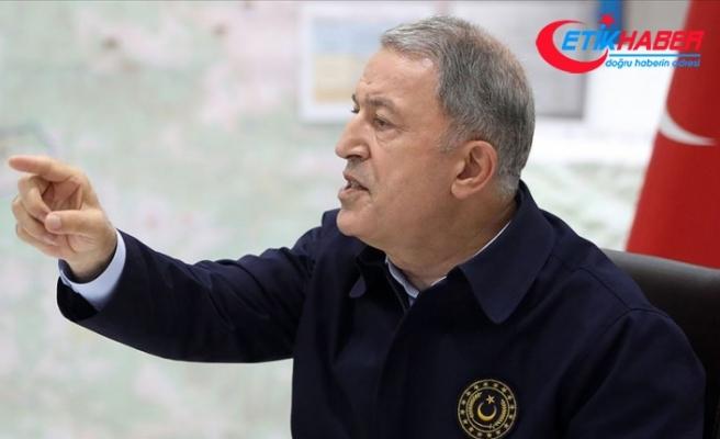 Milli Savunma Bakanı Akar'dan Fransız iddialarına 'sert' yanıt