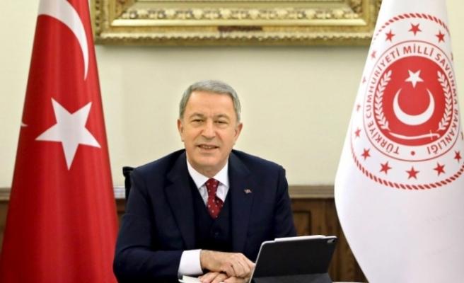 """Milli Savunma Bakanı Akar'dan Fransız iddialarına """"sert"""" cevap"""