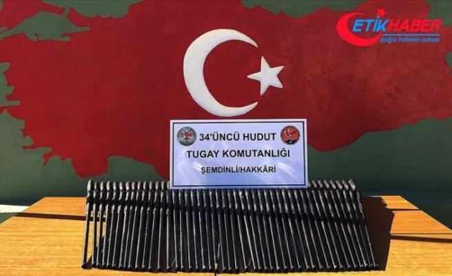 MSB: Sınırda 45 av tüfeği, 2 kilogram esrar ve 400 uyuşturucu hap ele geçirildi