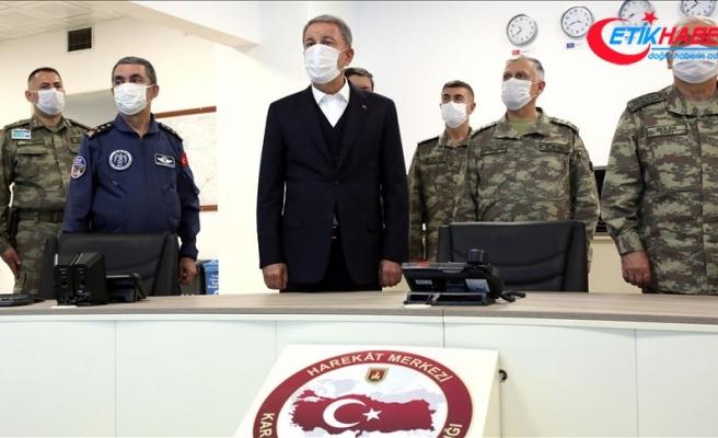 Pençe-Kaplan Operasyonu'nun ilk 36 saatinde 500'den fazla terör hedefi imha edildi
