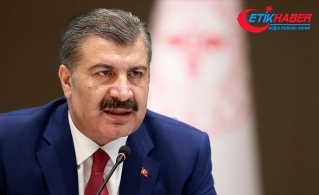 Sağlık Bakanı Fahrettin Koca'dan 'asker uğurlama' uyarısı