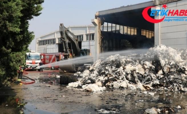 Tekstil fabrikasındaki yangının boyutu gün ağarınca ortaya çıktı