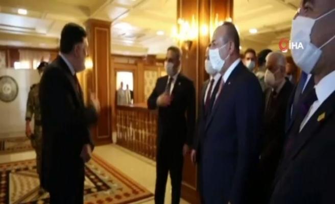 Türk heyeti Libya'yı görüşmek üzere Trablus'ta