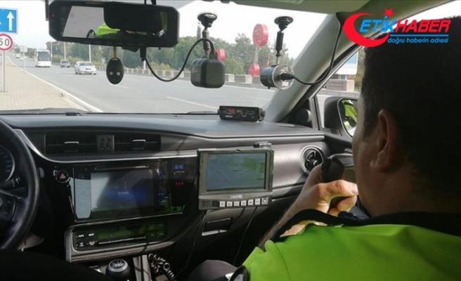 Ülke genelinde radarla hız denetimi yapıldı