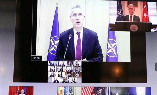 Video konferansla gerçekleşen NATO Savunma Bakanları toplantısı başladı