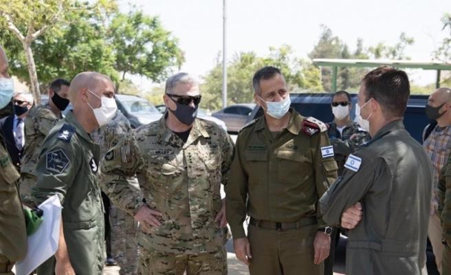 ABD Genelkurmay Başkanı General Milley'den İsrail'e ziyaret
