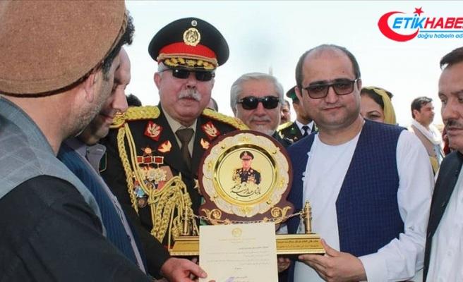Afganistan'da Raşid Dostum'a 'mareşallik' unvanı verildi