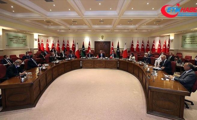 Ankara'da Libya için üçlü toplantı