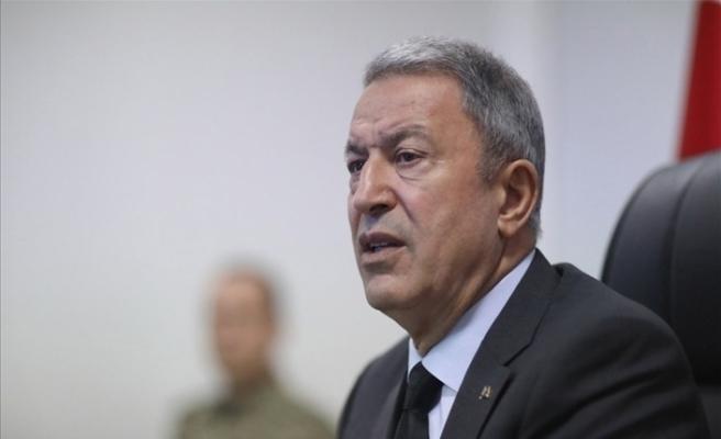 Milli Savunma Bakanı Akar, Doğu Akdeniz'deki gelişmeler hakkında toplantı yaptı